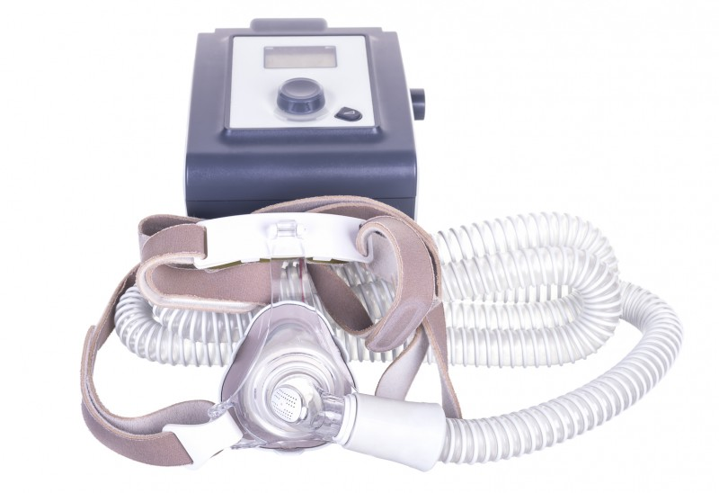 A CPAP device for sleep apnea